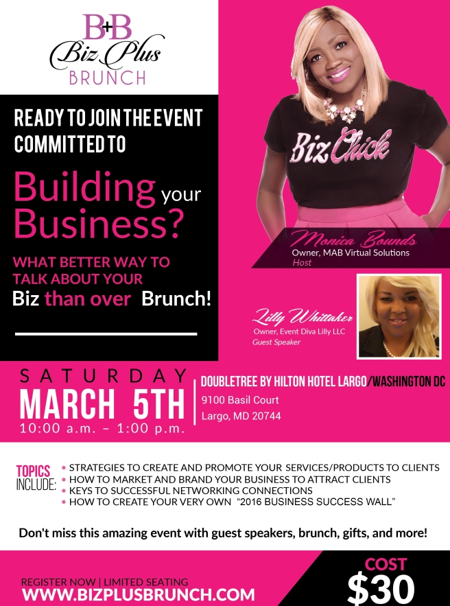 2016 Biz Plus Brunch