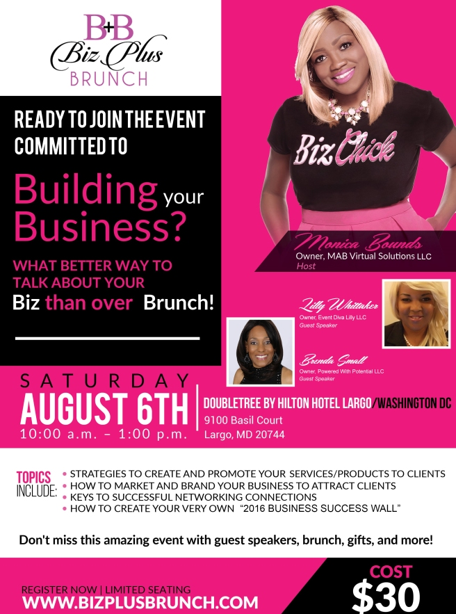 Biz Plus Brunch Event